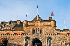 Edinburgh castle. In Scotland, Great Britain, United Kingdom stock photos