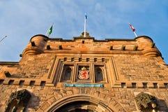 Edinburgh castle. In Scotland, Great Britain, United Kingdom royalty free stock images