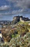 Edinburgh Castle, Scotland. Historic Edinburgh Castle in Scotland Stock Photo