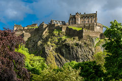 Edinburgh Castle, Scotland Royalty Free Stock Images