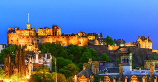 Edinburgh Castle, Scotland Royalty Free Stock Image