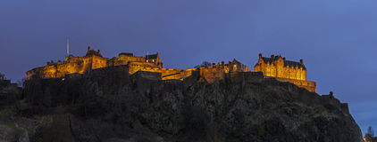 Edinburgh Castle in Scotland Royalty Free Stock Images