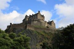 Edinburgh Castle, Scotland, from Princes Street Gardens, with th Stock Photos