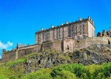 Edinburgh Castle in Scotland. In the UK stock photos