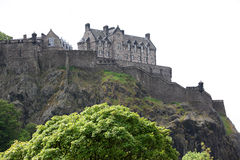 Edinburgh Castle , Scotland, UK Royalty Free Stock Images