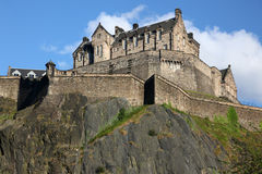 Edinburgh Castle , Scotland, UK Stock Photography