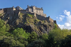 Edinburgh Castle , Scotland Royalty Free Stock Images