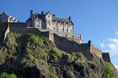 Edinburgh Castle, Scotland Stock Images