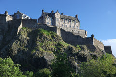 Edinburgh Castle, Scotland Royalty Free Stock Photos