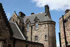Edinburgh Castle , Scotland, UK Stock Images
