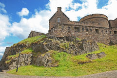 Edinburgh Castle , Scotland, UK Stock Photos