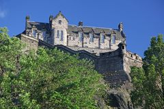 Edinburgh Castle , Scotland, UK Royalty Free Stock Photo