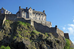 The Edinburgh Castle , Scotland Royalty Free Stock Photography
