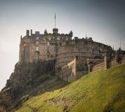 Edinburgh Castle. In Scotland, UK Stock Image