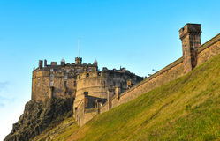 Edinburgh Castle, Scotland (UK) Stock Photography
