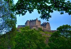 Edinburgh Castle. In Scotland, UK Stock Photo