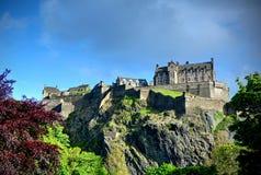 Edinburgh Castle. In Edinburgh, Scotland, UK Stock Images