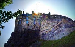 Edinburgh Castle. In Edinburgh, Scotland, UK Royalty Free Stock Photo