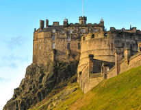 Edinburgh castle, Scotland (UK) Stock Image