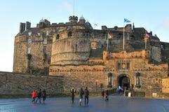 Edinburgh castle, Scotland (UK) Royalty Free Stock Images