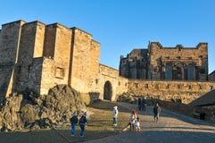 Edinburgh castle, Scotland (UK) Royalty Free Stock Photo