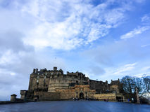 Edinburgh castle, Scotland, UK Royalty Free Stock Image