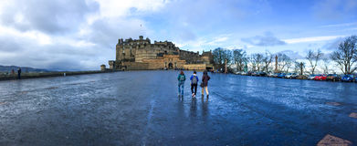Edinburgh castle, Scotland, UK Royalty Free Stock Photos
