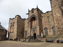 Edinburgh Castle royalty free stock photos