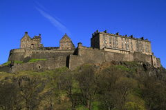Edinburgh castle, Scotland, United Kingdom Royalty Free Stock Photo