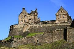 Edinburgh castle, Scotland, United Kingdom. Edinburgh castle wall with beautiful sky in Scotland, United Kingdom Stock Photo
