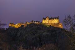 Edinburgh Castle in Scotland Stock Photography