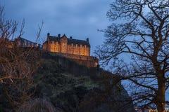 Edinburgh Castle in Scotland Royalty Free Stock Photo