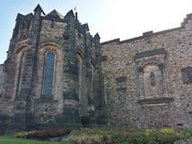 Edinburgh Castle. A small part of Edinburgh Castle Stock Photo