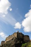 Edinburgh Castle from the South Royalty Free Stock Photos