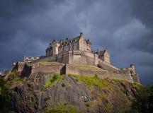 Edinburgh Castle Storm Royalty Free Stock Images