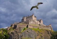 Edinburgh Castle Storm Stock Image