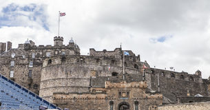 EDINBURGH CASTLE. View of Edinburgh Castle, Scotland, UK Royalty Free Stock Image