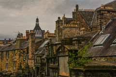 Edinburgh cemetery Royalty Free Stock Image