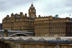 Edinburgh centrale Fotografie Stock