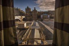 Edinburgh City Centre Royalty Free Stock Images