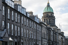 Edinburgh city historic Town Architecture Fassade Church. Edinburgh city historic Town the Architecture Fassade and Church Stock Photography