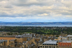 Edinburgh city panorama Royalty Free Stock Photography