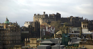 Edinburgh city view Stock Images