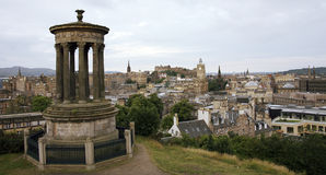Edinburgh Cityscape Stock Photos