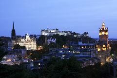Edinburgh Cityscape Royalty Free Stock Photo