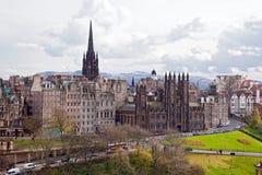 Edinburgh Cityscape Stock Images