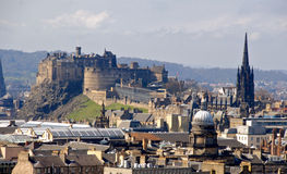 Edinburgh cityscape royalty free stock photos