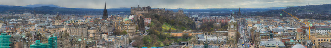Edinburgh Cityscape Royalty Free Stock Image