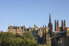 Edinburgh cityscape Royalty Free Stock Photos
