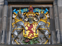 Edinburgh coat of arms, Scotland (UK) Royalty Free Stock Photo